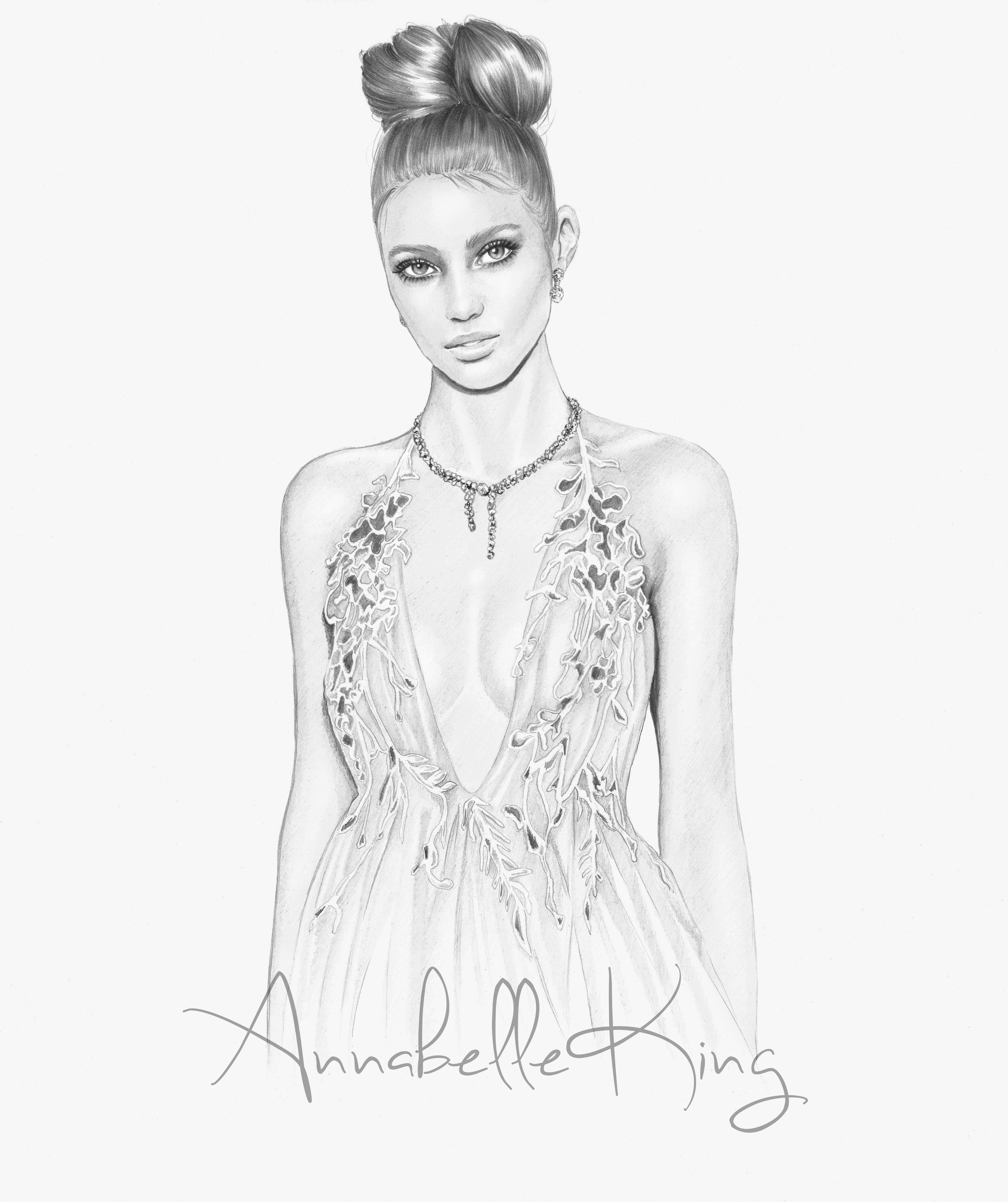 Michael Costello Spring Summer 2018 | Annabelle's Illustrations